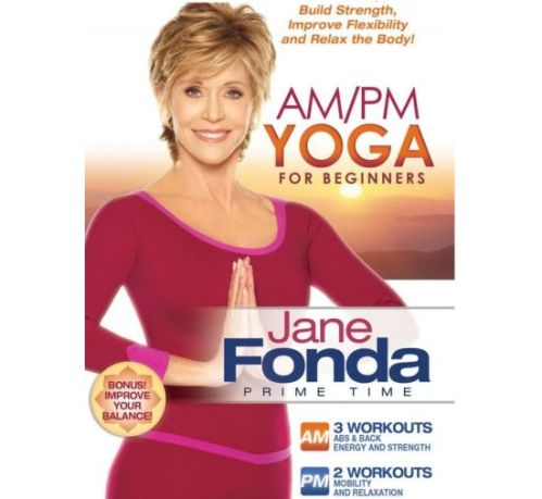 Jane-Fonda-releases-Prime-Time-AM-PM-Yoga-for-Beginners-DVD